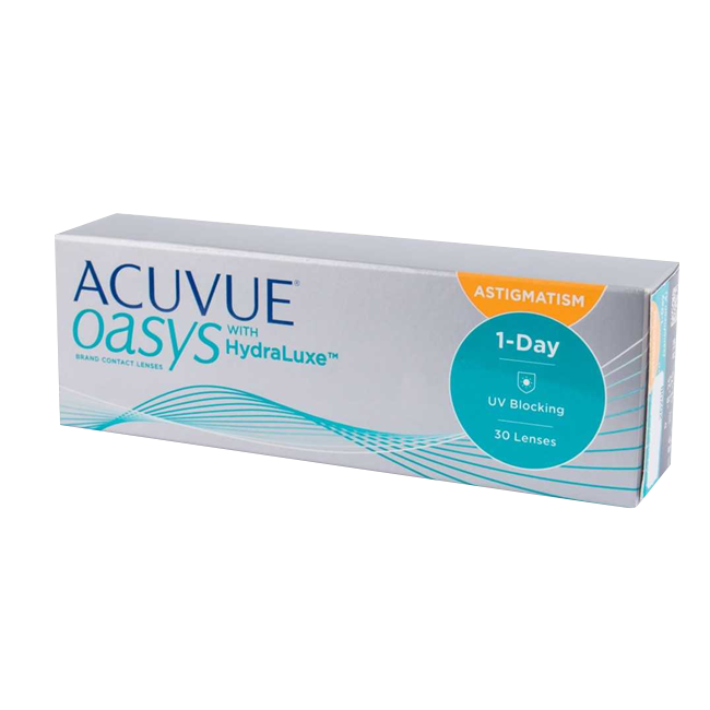Acuvue Oasys 1-day with HydraLuxe for Astigmatism, (30 шт.)