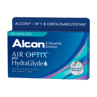 Air Optix Plus HydraGlyde (6 шт.)