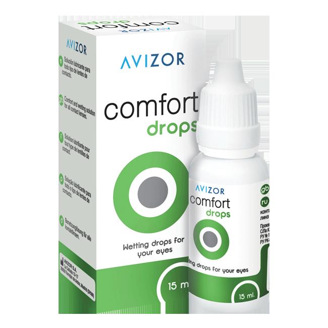 Avizor Comfort Drops, капли (15мл)