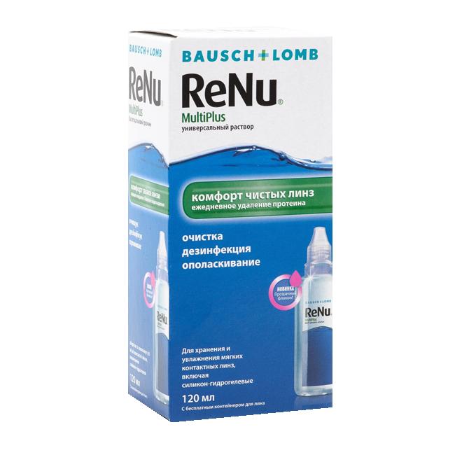 ReNu MultiPlus раствор (120 мл)