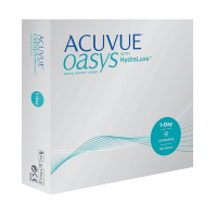 Acuvue Oasys 1-day with HydraLuxe, (90 шт.)
