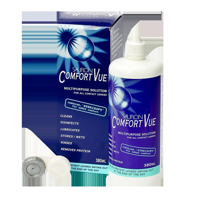 Comfort Vue, многоцелевой раствор (380мл)